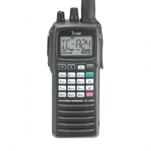 IC-A24 VHF AIR BAND